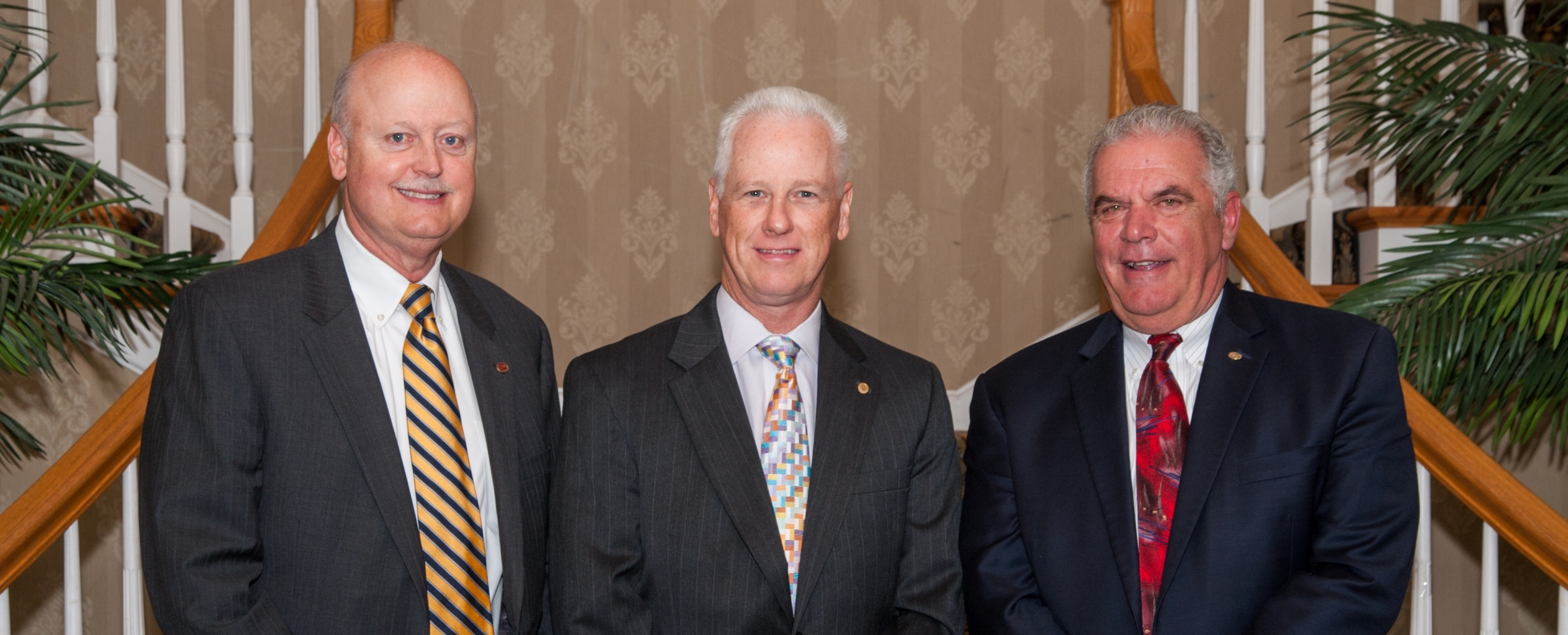 Connecticut Mutual Holding Company Presidents: Steve Reilly, Gary Roman, Thomas Villanova